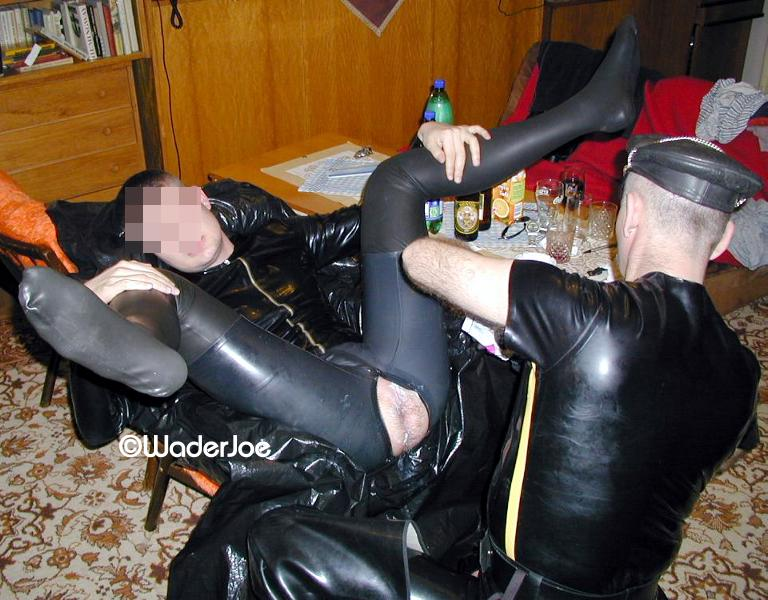 Rubber gay sex